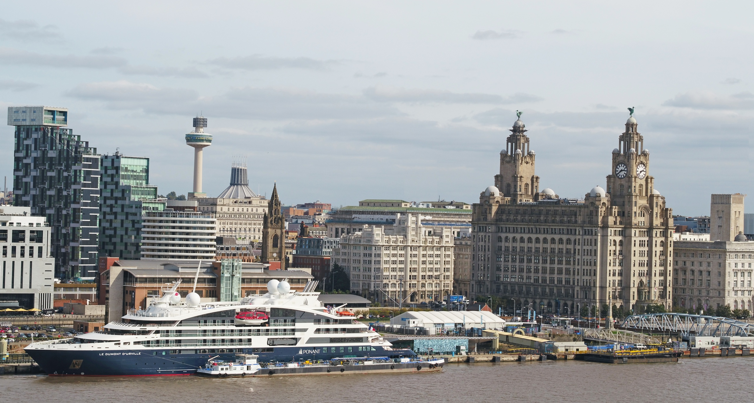 Famous Liverpool Waterfront